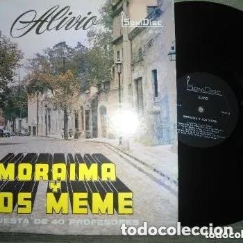 ANTIGUO LP MORAIMA Y LOS MEME ORQUESTA 40 PROFESIONALES - ALIVIO - SONIDISC (Música - Discos - LP Vinilo - Grupos y Solistas de latinoamérica)