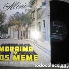 Discos de vinilo: ANTIGUO LP MORAIMA Y LOS MEME ORQUESTA 40 PROFESIONALES - ALIVIO - SONIDISC. Lote 220185047
