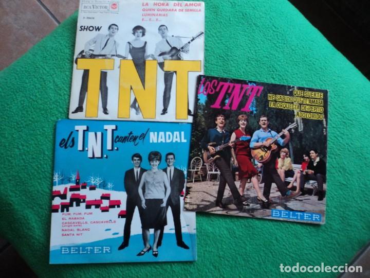 LOS TNT: 3 EPS DE BELTER Y RCA- PERFECTO ESTADO- SIN DETALLES-COLECCIONISTAS (Música - Discos - Singles Vinilo - Solistas Españoles de los 50 y 60)