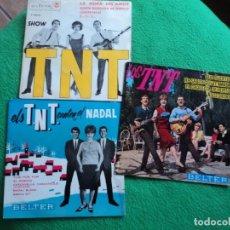 Discos de vinilo: LOS TNT: 3 EPS DE BELTER Y RCA- PERFECTO ESTADO- SIN DETALLES-COLECCIONISTAS. Lote 220223315