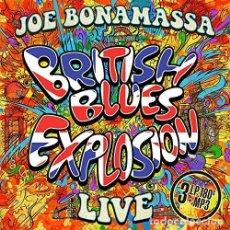 Discos de vinilo: JOE BONAMASSA BRITISH BLUES EXPLOSION NUEVO 3LPS BLACK COUNTRY COMMUNION. Lote 220235878