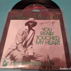 Disques de vinyle: AMII STEWART - YOU REALLY TOUCH MY HEART. Lote 220251142