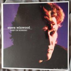 Discos de vinilo: STEVIE WINWOOOD - KEEP ON RUNNING. LP RECOPILATORIO, EDICIÓN ALEMANA. Lote 220256465