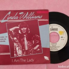 "Disques de vinyle: 7"" LINDA WILLIAMS – I AM THE LADY - EUROVISION - IMAVOX IM 24002 - PORTUGAL PRESS (VG++/VG++). Lote 220260260"