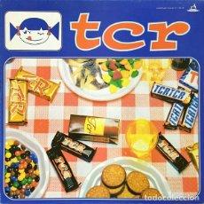 Discos de vinilo: TCR LP HOMÓNIMO AÑO 1999 VINILO AZUL NUEVO. Lote 220262105