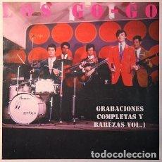 Discos de vinilo: LOS GO-GO GRABACIONES COMPLETAS Y RAREZAS VOL.1 LP NUEVO. Lote 220265191