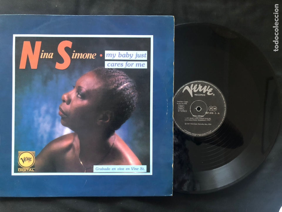 NINA SIMONE ?– MY BABY JUST CARES FOR ME (Música - Discos de Vinilo - Maxi Singles - Jazz, Jazz-Rock, Blues y R&B)