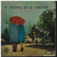 Disques de vinyle: PIOVE - SAN REMO 1959 - EP 1959. Lote 220292077