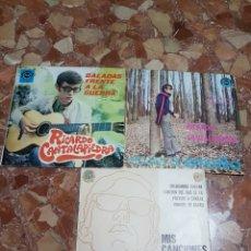 Discos de vinilo: LOTE 3 EP RICARDO CANTALAPIEDRA. Lote 220293583