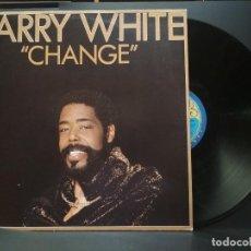 Discos de vinilo: BARRY WHITE CHANGE LP SPAIN 1982 PDELUXE. Lote 220295938