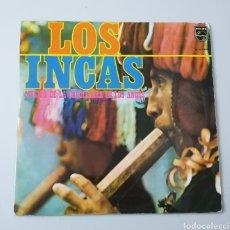 Discos de vinilo: 2 LPS LOS INCAS MUSICA DE LA CORDILLERA DE LOS ANDES (ESPAÑA - PHILIPS - 1970) PERÚ FOLK. Lote 220296555