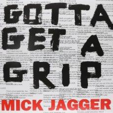 "Discos de vinilo: MICK JAGGER ( ROLLING STONES ) MAXI 12"" VINILO * GOTTA GETTA GRIP * PRECINTADO!!. Lote 220296725"