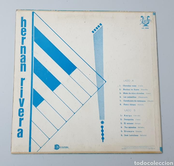 Discos de vinilo: LP - HERNAN RIVERA UNZUETA (Bolivia - Lyra - 1972) Folk Quechua Bolivia - Foto 2 - 53471694