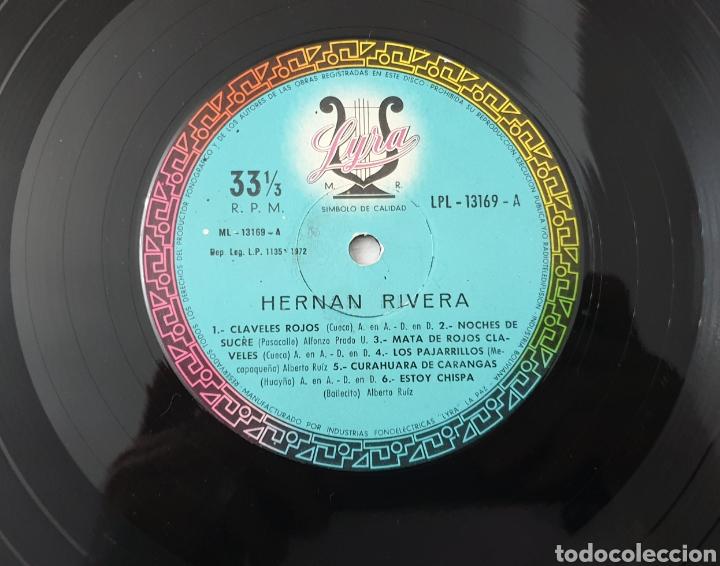 Discos de vinilo: LP - HERNAN RIVERA UNZUETA (Bolivia - Lyra - 1972) Folk Quechua Bolivia - Foto 4 - 53471694