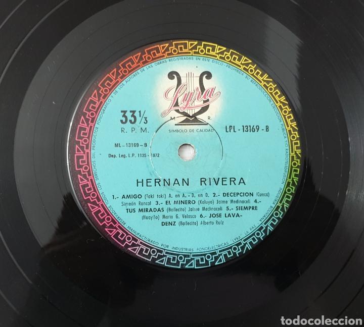 Discos de vinilo: LP - HERNAN RIVERA UNZUETA (Bolivia - Lyra - 1972) Folk Quechua Bolivia - Foto 6 - 53471694