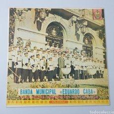 Discos de vinilo: LP - BANDA MUNICIPAL EDUARDO CABA - (BOLIVIA - LYRA - 1970) RARISIMO Y ESCASO!!. Lote 53471779