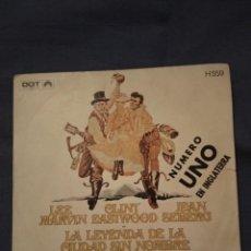 Discos de vinilo: LA LEYENDA DE LA CIUDAD SIN NOMBRE - BANDA SONORA DE LA PELÍCULA.. Lote 220303882