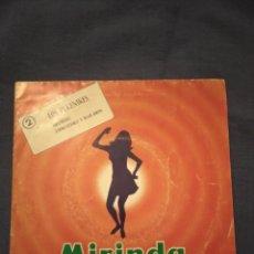 Discos de vinilo: MIRINDA Y... ¡MUSICA! LOS PEKENIKES Nº2 -HECHIZO Y EMBUSTERO Y BAILARIN-. Lote 220304345