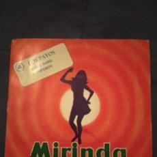Discos de vinilo: MIRINDA Y…¡MÚSICA!. Nº 4. LOS PAYOS. MARIA ISABEL + COMPASION. Lote 220304386