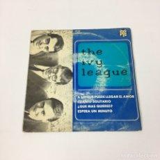 Discos de vinilo: EP - THE IVY LEAGUE - A LO QUE PUEDE LLEGAR EL AMOR (PYE, ESPAÑA 1965). Lote 220306547