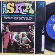 Discos de vinilo: MANGO JONES WITH THE HARRY BALLU SINGERS – EP SPAIN PS – EX * THE SKA * DISCOPHON 1964. Lote 220309042