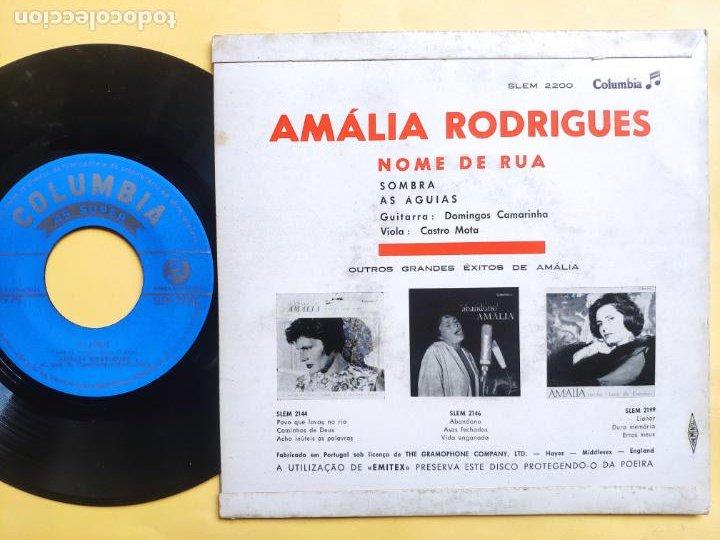 Discos de vinilo: AMALIA RODRIGUES - EP Portugal PS - EX * NOME DE RUA - Foto 2 - 220309451