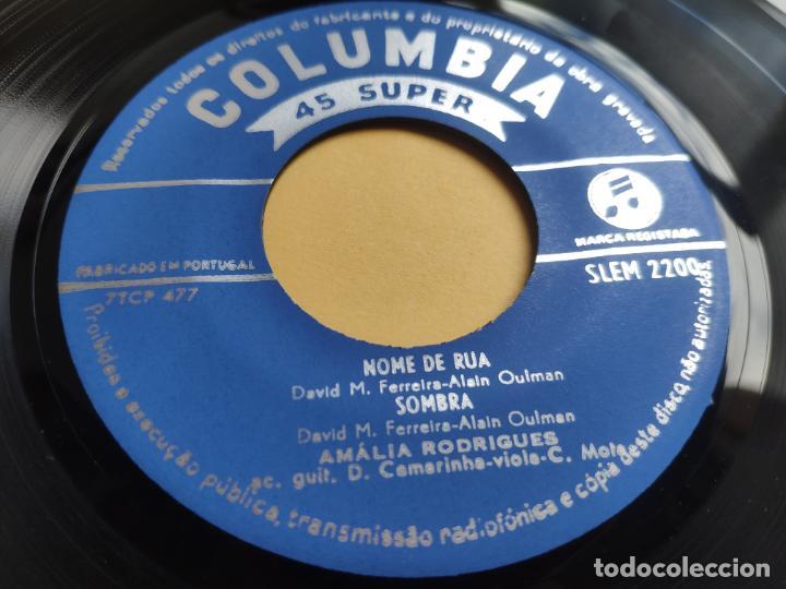 Discos de vinilo: AMALIA RODRIGUES - EP Portugal PS - EX * NOME DE RUA - Foto 3 - 220309451
