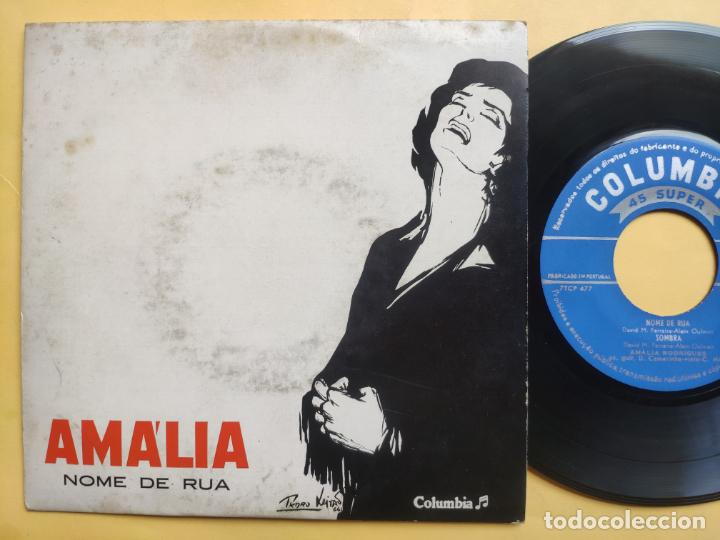 AMALIA RODRIGUES - EP PORTUGAL PS - EX * NOME DE RUA (Música - Discos de Vinilo - EPs - Étnicas y Músicas del Mundo)