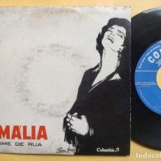 Discos de vinilo: AMALIA RODRIGUES - EP PORTUGAL PS - EX * NOME DE RUA. Lote 220309451