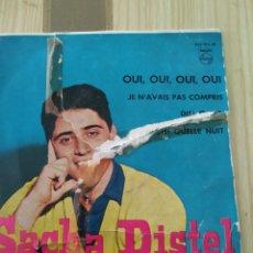 Discos de vinilo: SACHA DISTEL 1959. Lote 220354198
