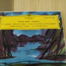 Discos de vinilo: 1964, EDWARD GRIEG, VINILO 7 PULGADAS. Lote 220354775