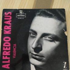 Discos de vinilo: ALFREDO KRAUS VALENCIA 7 PULGADAS. Lote 220356891