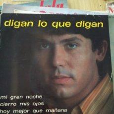 Discos de vinilo: 1967, RAPHAEL, MI GRAN NOCHE ETC.. 7 PULGADAS. Lote 220357275