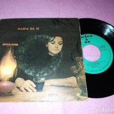 """Discos de vinilo: 7"""" MARIA DA FE – FADO DIFERENTE - ORFEU ATEP 6093 - PORTUGAL PRESS EP (VG+/VG+). Lote 220357472"""