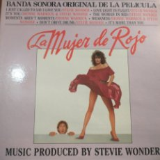 Discos de vinilo: LA MUJER DE ROJO LP. Lote 220360372