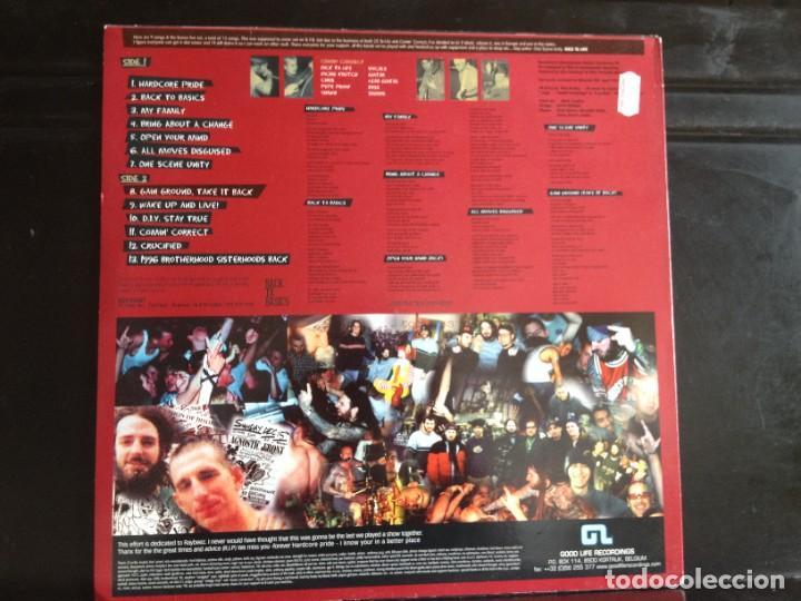 Discos de vinilo: COMIN CORRECT - ONE SCENE UNITY / ALBUM CREME VINYL MADE IN USA. 1998. NM - M - Foto 3 - 220362333