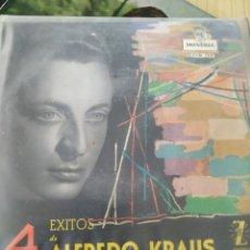 Discos de vinilo: ALFREDO KRAUS 4 ÉXITOS, 1959,7 PULGADAS. Lote 220366361