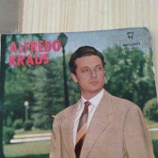 Discos de vinilo: ALFREDO KRAUS MONTILLA, 7 PULGADAS. Lote 220366673
