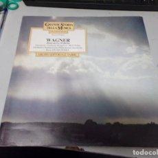 Discos de vinilo: GRANDE STORIA DELLA MUSICA - WAGNER - GRUPPO EDITORIALE FABBRI. Lote 220367775
