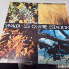 Discos de vinilo: VIVALDI - LES QUATRE ESTACIONS. Lote 220367862