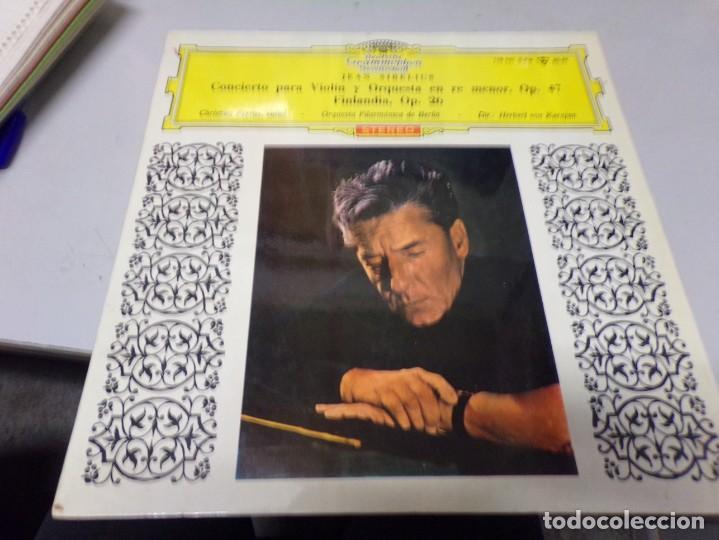 JEAN SIBELIUS CONCIERTO PARA VIOLÍN Y ORQUESTRA EN RE MENOR (Música - Discos - Singles Vinilo - Clásica, Ópera, Zarzuela y Marchas)