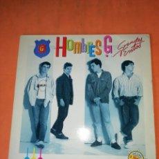 Discos de vinilo: HOMBRES G. GRANDES EXITOS. INCLUYE DOS TEMAS INEDITOS. NUEVA LENTE 1986. Lote 220368327