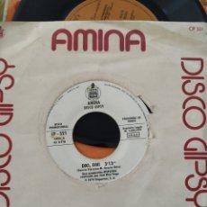 Discos de vinilo: AMINA, DIKI DIKI, 1979, 7 PULGADAS. Lote 220368591
