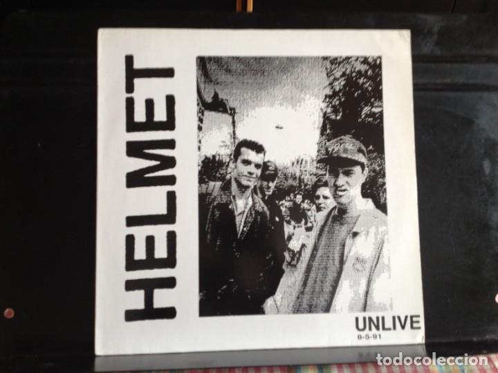 HELMET - UNLIVE 8-5-91 (ALTERNATIVE ROCK, HARDCORE) / ALBUM LP VINYL NO-OFICIAL 1991. NM- NM (Música - Discos - LP Vinilo - Punk - Hard Core)