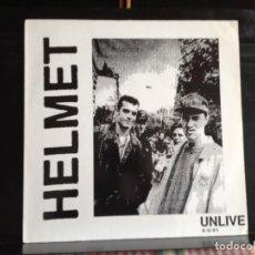 Discos de vinilo: HELMET - UNLIVE 8-5-91 (ALTERNATIVE ROCK, HARDCORE) / ALBUM LP VINYL NO-OFICIAL 1991. NM- NM. Lote 220393378