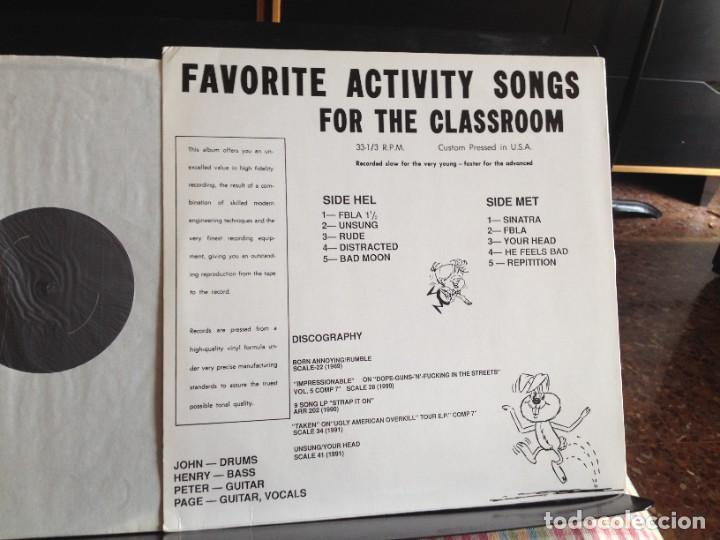 Discos de vinilo: HELMET - UNLIVE 8-5-91 (ALTERNATIVE ROCK, HARDCORE) / ALBUM LP VINYL NO-OFICIAL 1991. NM- NM - Foto 3 - 220393378