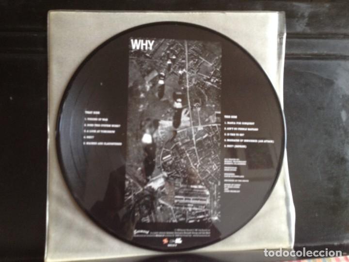 Discos de vinilo: DISCHARGE - WHY (PUNK, HARDCORE) / ALBUM VINYL PICTURE DISC ITALY 2003. MINT - Foto 2 - 220396037