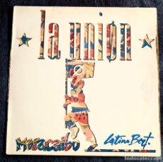 """Discos de vinilo: LA UNION. MARACAIBO. MAXI SINGLE 12"""".. Lote 220403271"""