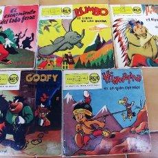 Discos de vinil: DISCOS DE CUENTOS RCA,LOTE DE 5. Lote 220410093