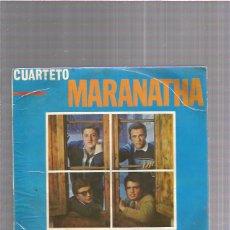 Discos de vinilo: CUARTETO MARANATHA EN UNA FLOR + REGALO SORPRESA. Lote 220415066